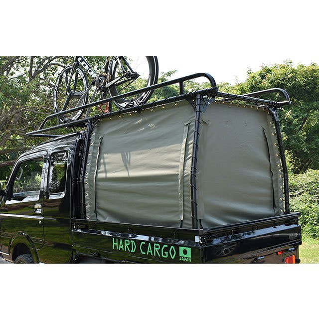 HARD CARGO ハードカーゴ カバー (中サイズ) ダイハツ ハイゼットトラック ジャンボ S500P S510P ハードカーゴキャリア専用幌 北海道·沖縄·離島は要確認