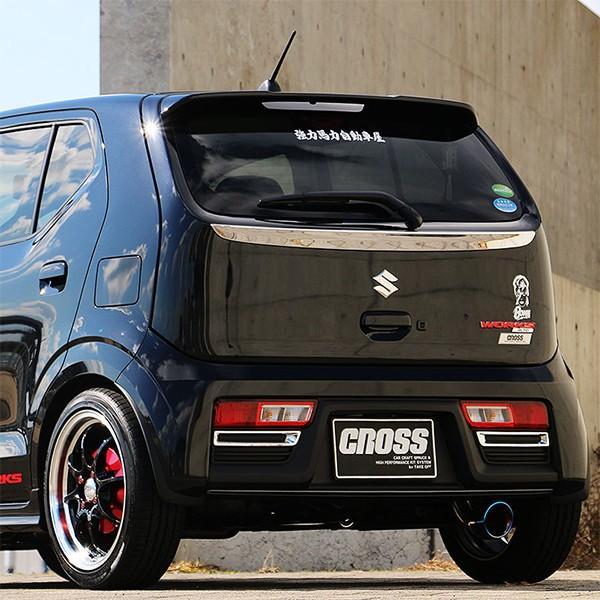 [TAKE OFF] テイクオフ CROSS STAGE マフラー 【 アルトワークス [HA36S] 4WD MT車 】北海道・沖縄・離島は要確認|auto-craft|02