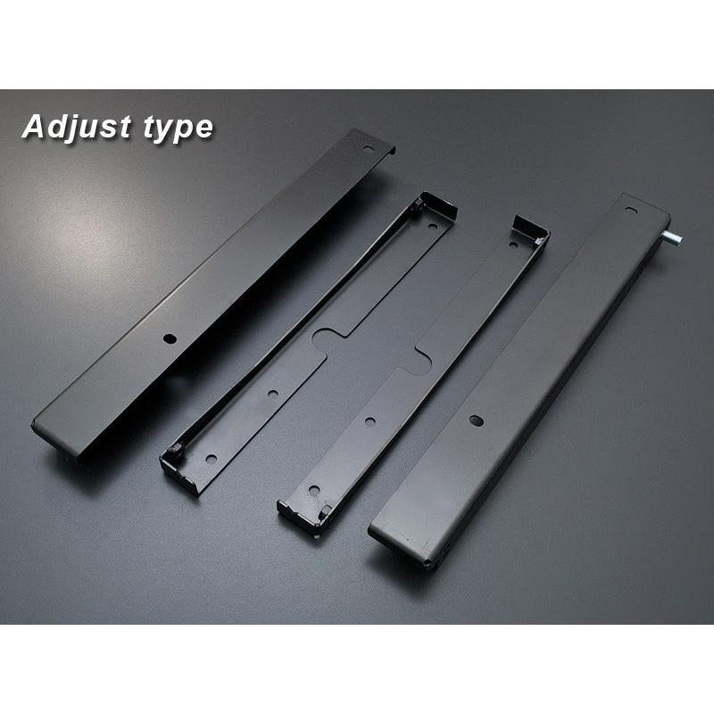 [G'BASE] ジーベース アルトワークス/HA36S 純正レカロ ローポジションアダプター アジャストタイプ 【SUZUKI ALTO WORKS [HA36S]】(左右共通品/単品)|auto-craft|02