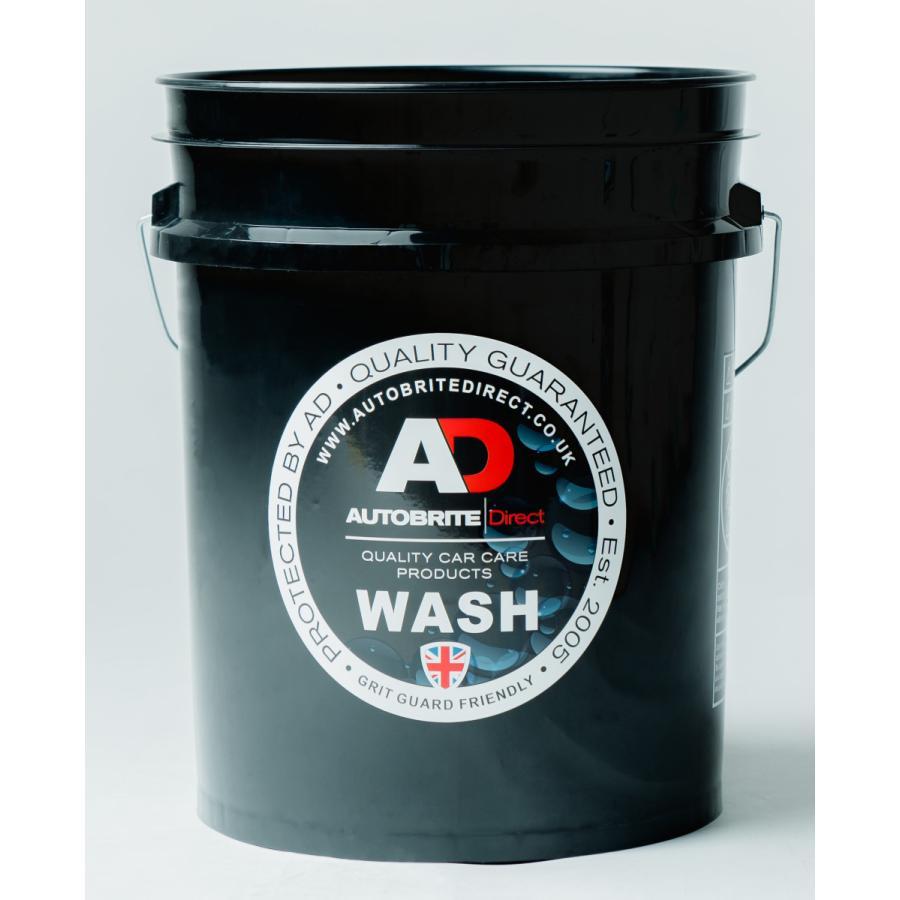 米国製 Autobrite Direct [黒WASH] 20L大容量サイズ  洗車バケツ autobritedirect