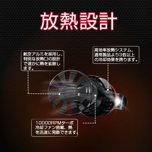 送料無料LED ヘッドライト CREE製XHP50チップ搭載 19200LM 12V  H4Hi/Lo H7/H8/H11/H16/HB3/HB4/H1 6500K 車検対応 2個set 即納!一年保証!|autoone|03