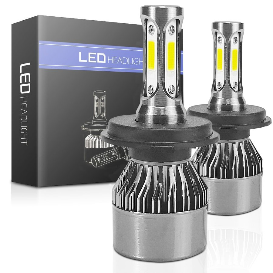 【即納】LEDヘッドライト  一体型  H4 Hi/Lo H8 H11 H16 H7 HB3 HB4   LEDフォグライト 16000LM 超明るい COB製LEDチップ LEDバルブ 車検対応 送料無 週末限定|autoone