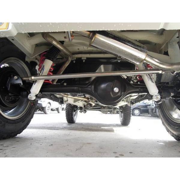 ◆S0007 JB23 ジムニー 2.5インチ リフトアップ キット 1台分 Ver,2 メッシュ ロング ブレーキ ホース ラテラルロッド サス ショック|autoparts-success|07