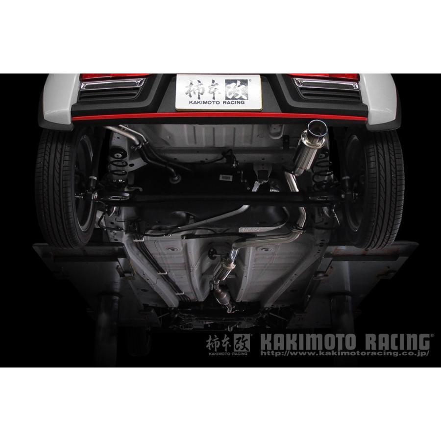 自動車関連業者直送限定 柿本 マフラー GTbox 06&S アルトワークス HA36S カキモト スズキ SUZUKI ジーティーボックス ゼロロクエス (S44335) autopartsnet 02
