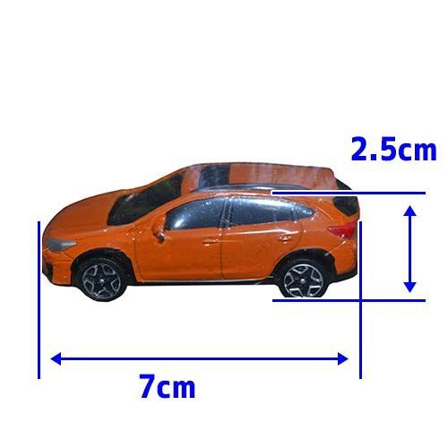 SUBARU 正規品 スバル XV クロストレック ミニカー オレンジ autoproz-usa 05