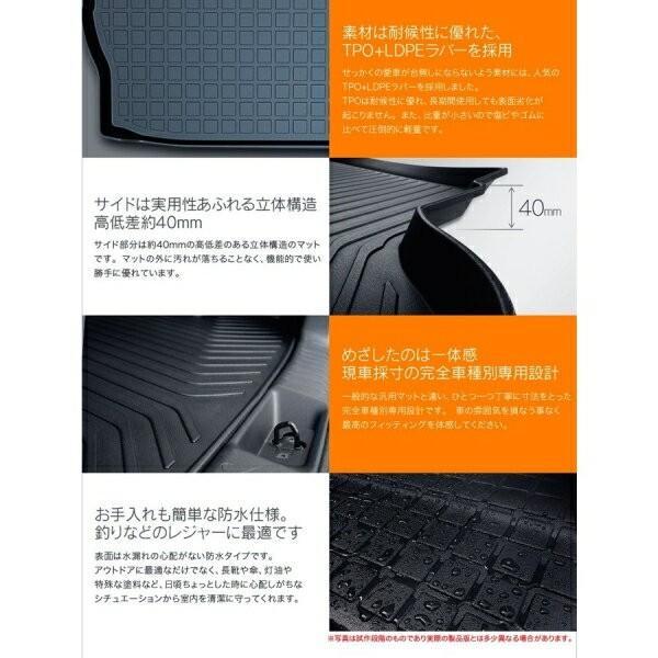ACRUX トランクトレイ スバル XV H24年9月〜 ハイブリット非対応 ラゲッジマット 汚れ対策 SB03|autorule|02