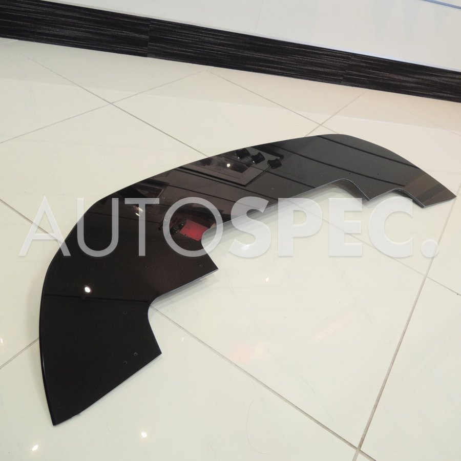 AS フロントリップ アンダースポイラー ABARTH 595 シリーズ4 S4 グロスブラック 艶 黒 アバルト autospecy-store 05