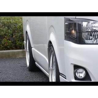 ハイエース 200系 標準ボディ オーバーフェンダー ABS製 シボ+ピアスボルト|autovillage|03