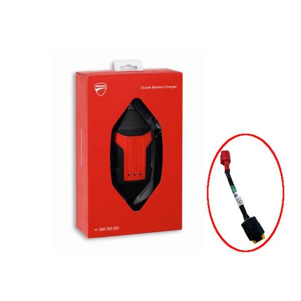 ドゥカティ バッテリーチャージャー by 送料無料限定セール中 限定価格セール tecMATE 日本仕様 ストリートファイター 対応アダプター付 etc ユーロ5適合モデル