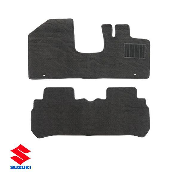 スズキ ハスラー MR31S型 フロアマット ブラック 2点セット autowear