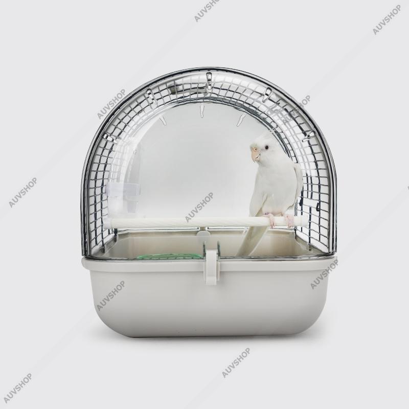 小鳥かご  手乗り プラットホーム付 小型鳥用  鳥籠 ゲージ フルセット カナリア セキセイインコ 小型鳥用|auvshop|07