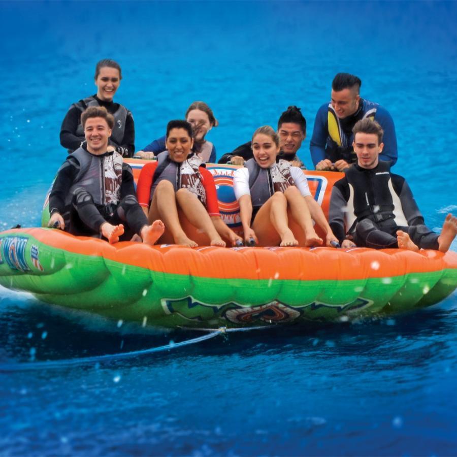 トーイングチューブ バナナボート WOW (ワオ) ビッグママ 8人乗り