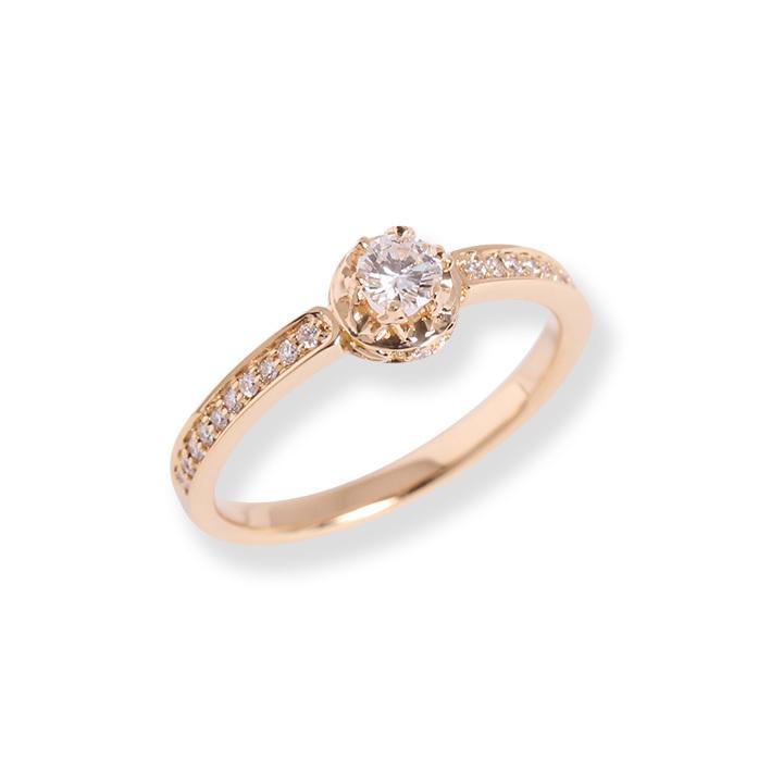 リング レディース 指輪 クラウン 王冠 ダイヤモンド k18 18金 18k k10 Amulet