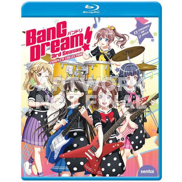 BanG Dream 第3期 BD 日本限定 325分収録 北米版 訳ありセール 格安 全13話