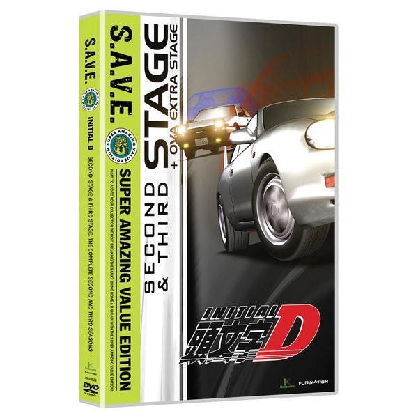 頭文字D 2nd Stage+3rd Stage 着後レビューで 送料無料 廉価版 DVD 激安☆超特価 全13話+OVA1話+劇場版 北米版 460分収録
