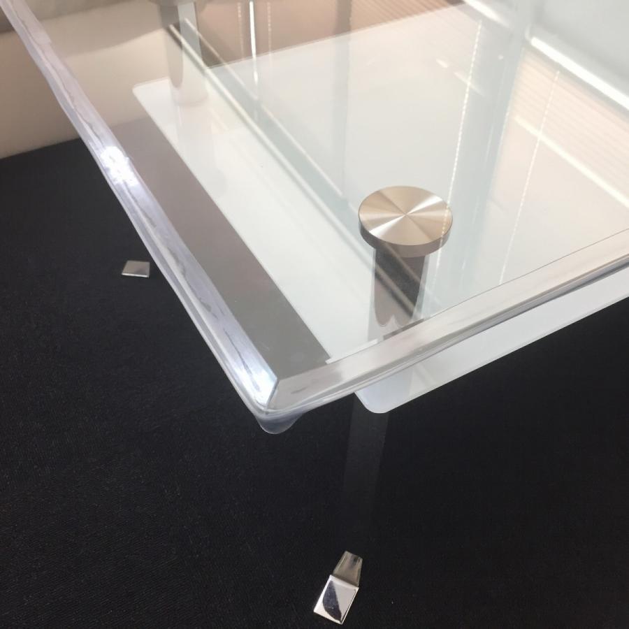 コーナークッション コーナーガード 透明 2m 赤ちゃん用 透明両面テープ付き (2メートル)|avekt|02