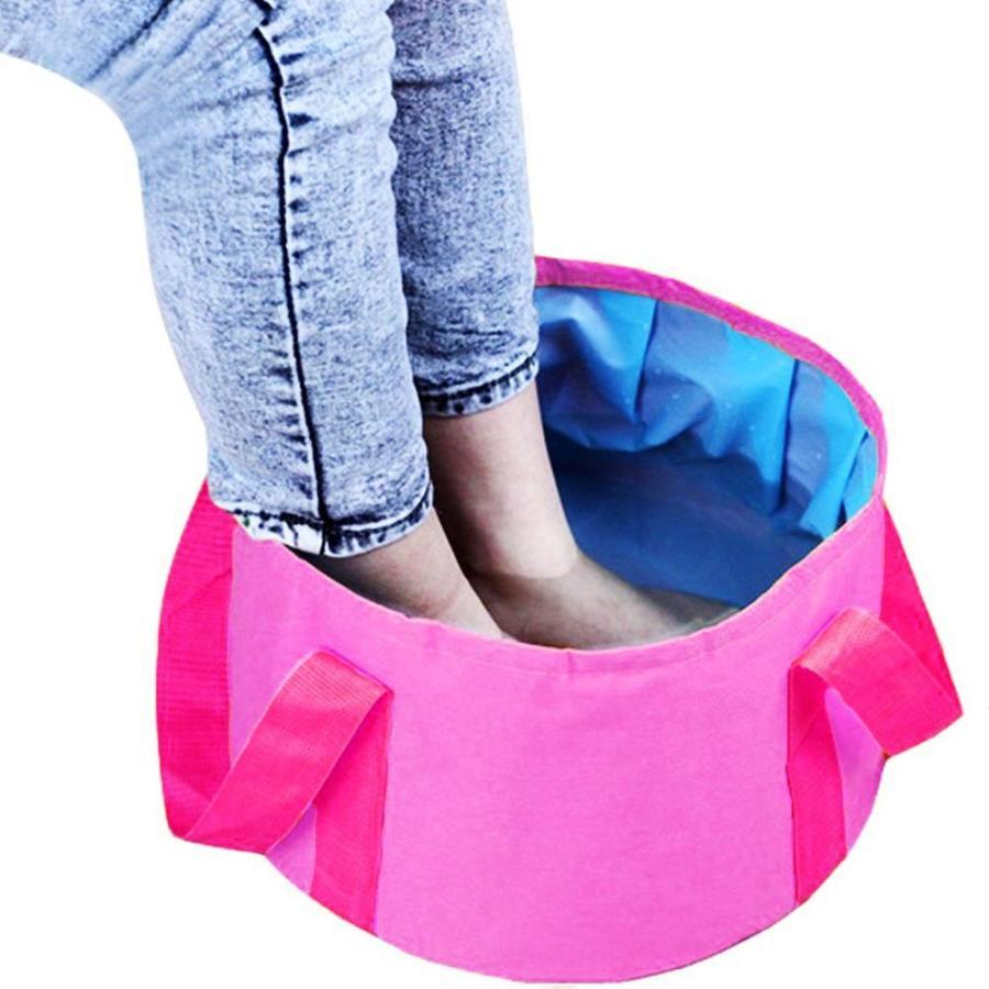 折り畳みバケツ 大容量25L 収納袋つき アウトドア 洗車 災害対策|avekt|05