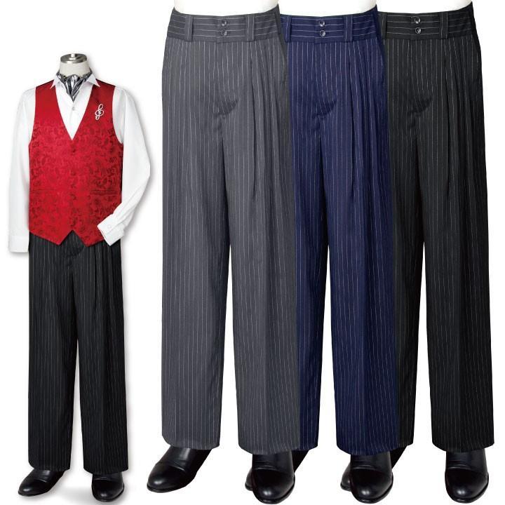 在庫限りセール アルゼンチンタンゴ 4タック パンツ メンズ 紳士 ステージ衣装 ダンスパンツ  MEP189-90813 |avivare