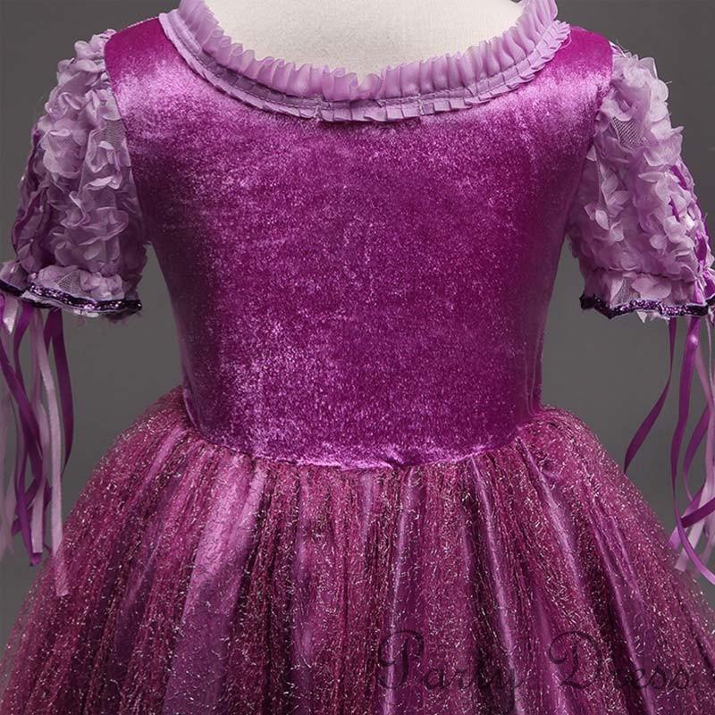 301c08ebd9eee ラプンツェル ドレス ラプンツェル コスプレ キッズ ディズニー ドレス ...