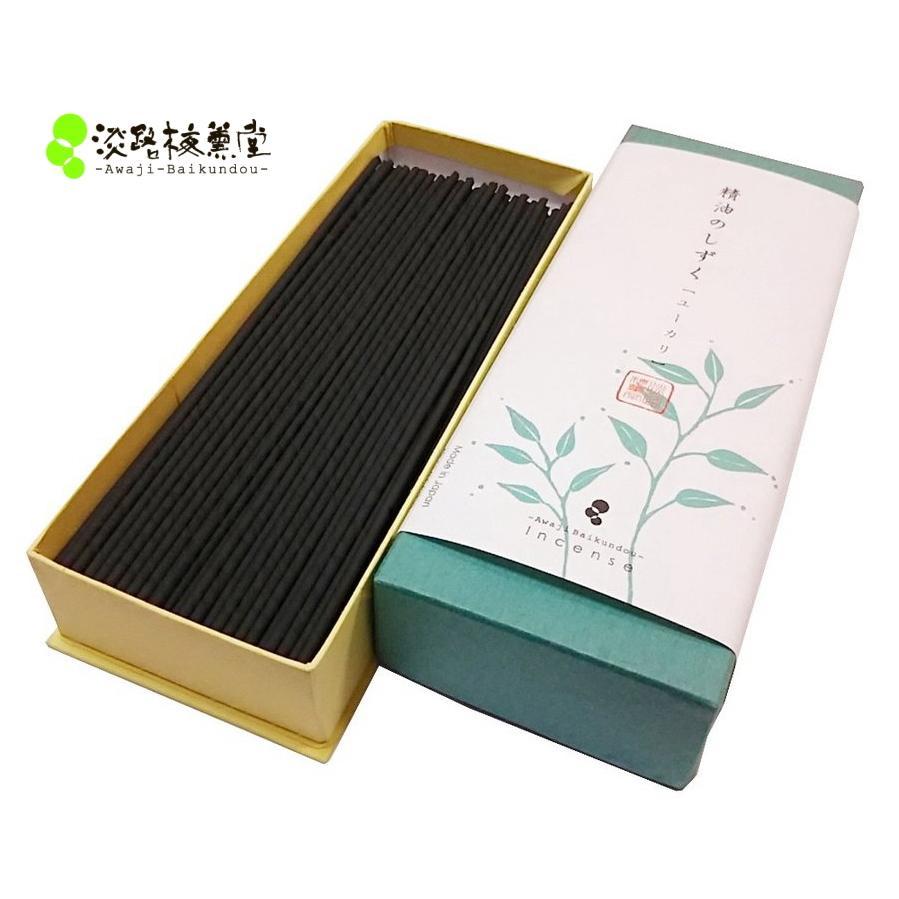 線香 アロマ代わり 線香メーカーおすすめお香 精油のしずく ユーカリ 5%OFF 癒し 30g 贈呈