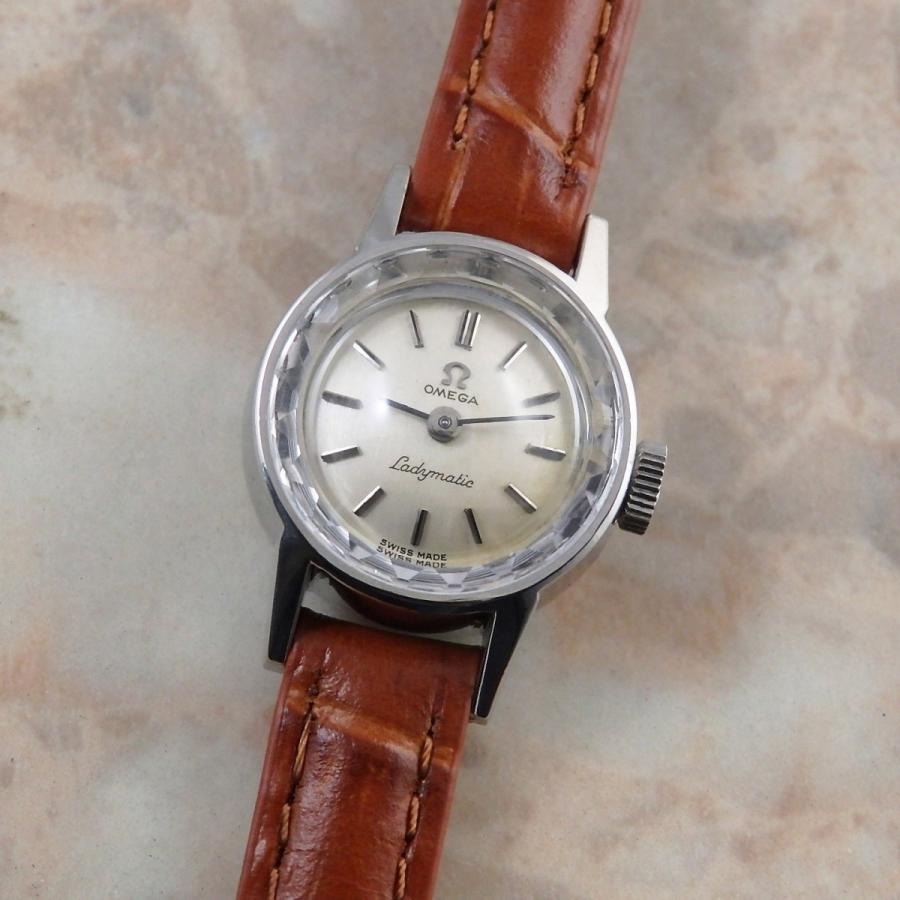 品質が OMEGA レディーマチック プリズム風防 レディースアンティークウオッチ 1966年 自動巻き オメガ腕時計, ワインショップ ツカサ 580f5f31
