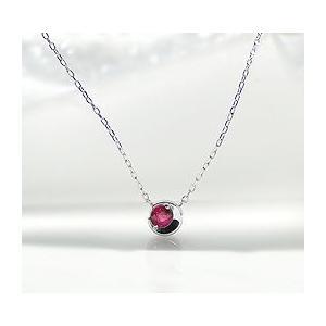 品質一番の ネックレス ルビー 三日月モチーフ カラーストーン k18 ゴールド ben0049, Lingerie Labo 659aed8d