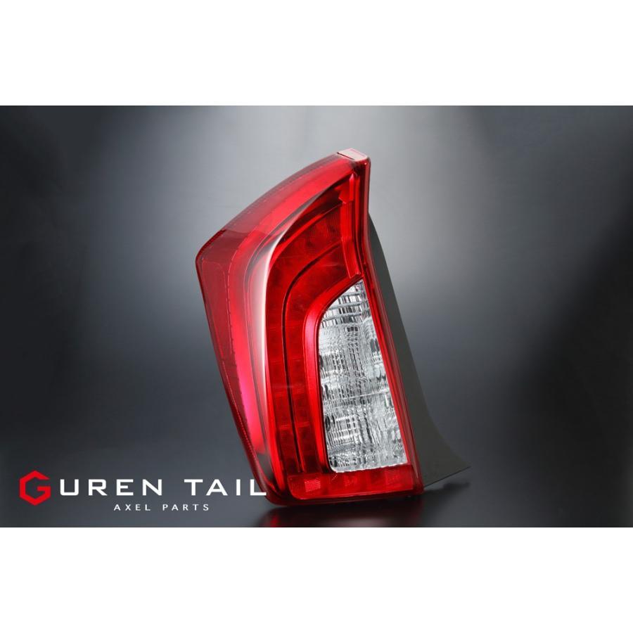 GUREN TAIL 30系プリウス 後期 全灯化 レッドテールランプSET|axel-parts|02