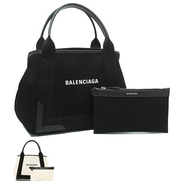 バレンシアガ トートバッグ ネイビーカバ Sサイズ キャンバス レディース BALENCIAGA 339933 AQ38N|axes