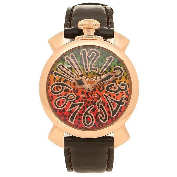 高級品市場 ガガミラノ 腕時計 レディース GAGA MILANO 5021ART01-BRW ブラウン マルチカラー, イチハラシ a4bcb187
