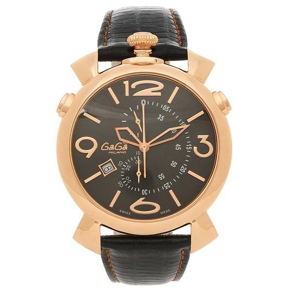 hot sale online 8e42e bab76 ガガミラノ 腕時計 MILANO 腕時計 メンズ GAGA MILANO 5098.02BK ...
