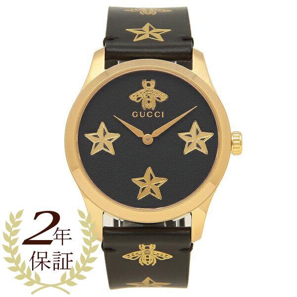 肌触りがいい 「P10%還元 3/31 10:00まで」 グッチ 腕時計 レディース メンズG-TIMELESS G-タイムレス 38MM GUCCI YA1264055 ブラック ゴールド, 激安正規品 9fbd2448