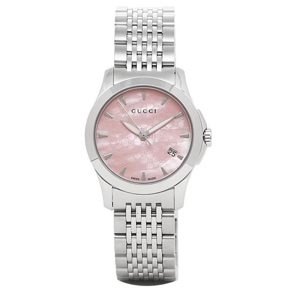 timeless design 2da26 a80e9 グッチ 時計 GUCCI レディース GUCCI 腕時計 YA126532 G ...