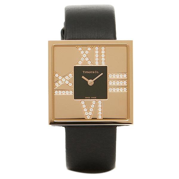 【期間限定お試し価格】 ティファニー TIFFANY & Co 時計 腕時計 レディース TIFFANY&Co Z19501030E10A40E ATLAS COCKTAIL SQUARE LADY 腕時計 ブラック, イチオシBABY&KIDSハローガーデン ce705a7c