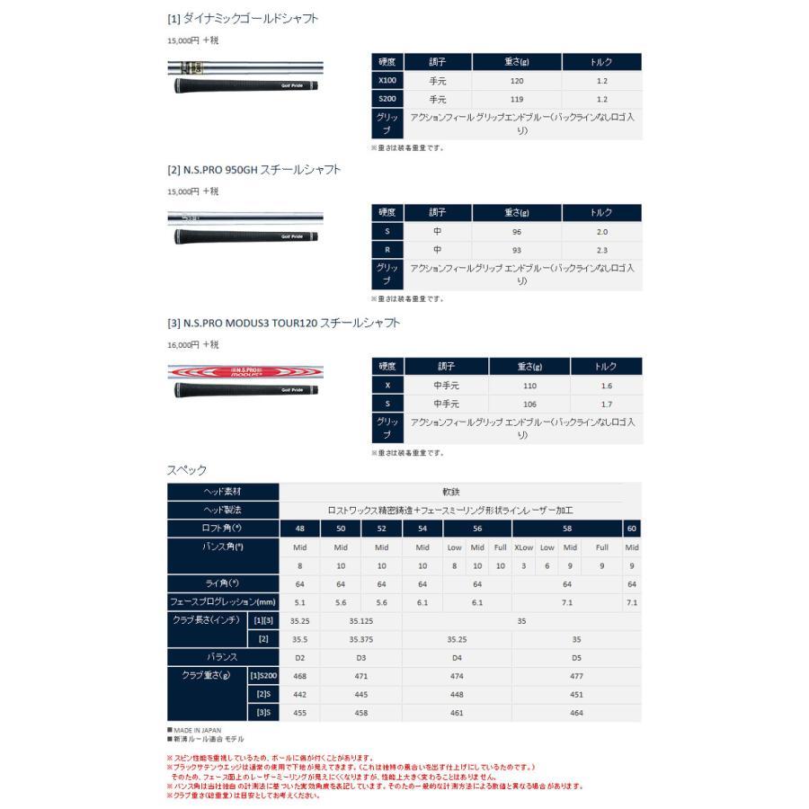 【半期決算SALE】【RTX4/ブレード】【18年】クリーブランド【日本正規品】 RTX4 ウェッジ N.S.PRO MODUS3 TOUR 120スチール【10756】|axisrd|05