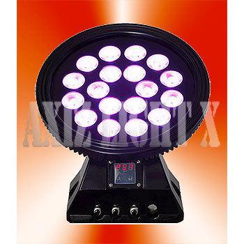 LEDラウンドライトアップ4in1AX18!【2台でお得!】高級感光沢ボディ!プロ仕様フルグラデーション効果搭載!