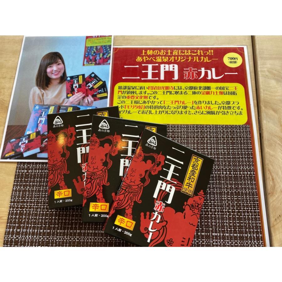 京都牛の辛口レトルトカレー 3個セット(税込み・送料込み) ayabeonsen