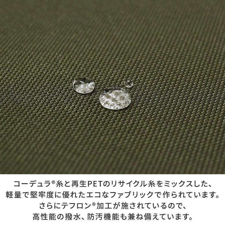 がま口 バッグ  がま口スクエアワンショルダーバッグ Sarei コーデュラ(R)Eco Fabric|ayano-koji|08