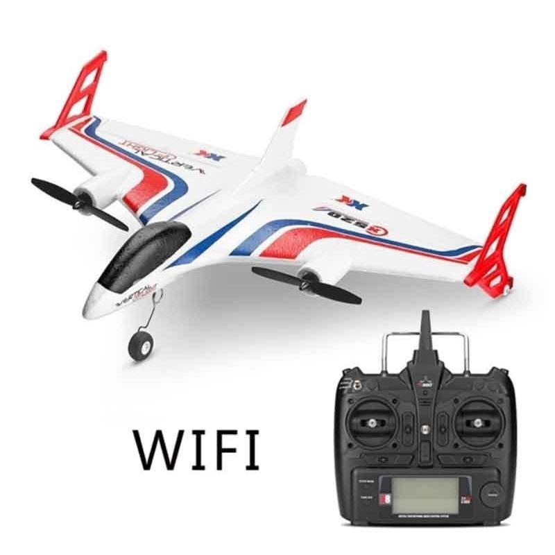 XK SKY/XKスカイ VTOL機X520 3D/6G 6CH EPP 520mm ウィングスパン 5G WIFI FPV 720P カメラ RC 飛行機 RTF 2.4GHz