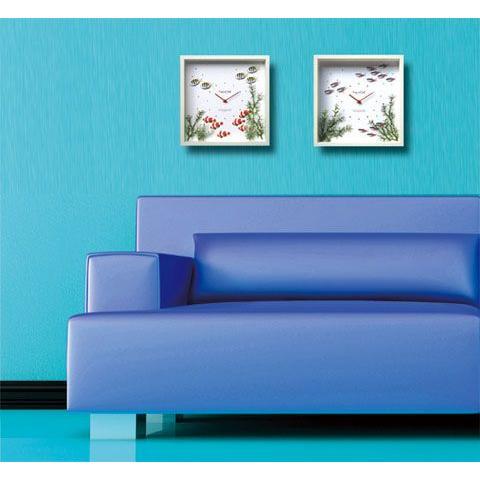 アクアフレーム ゆうパケット Aqua Frame Neon Tetra(ネオンテトラ) 絵画 壁掛け 壁飾り インテリア 油絵 花 アートパネル ポスター 絵 額入り リビング 玄関 ayuwara 02