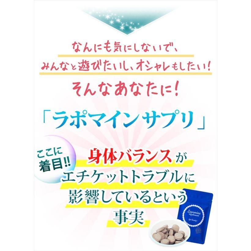 即納 ラポマインサプリメント 3袋(1袋40粒) |az-shop|04