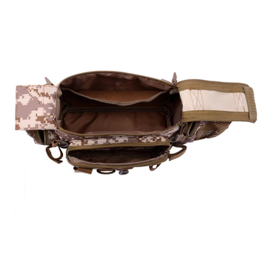 マルチフィッシングバック フィッシングバッグ タックルバッグ ヒップバッグ ショルダーバッグ ルアーケース 釣りバック 大容量 多機能 防水 アウトドア|azaargo|05