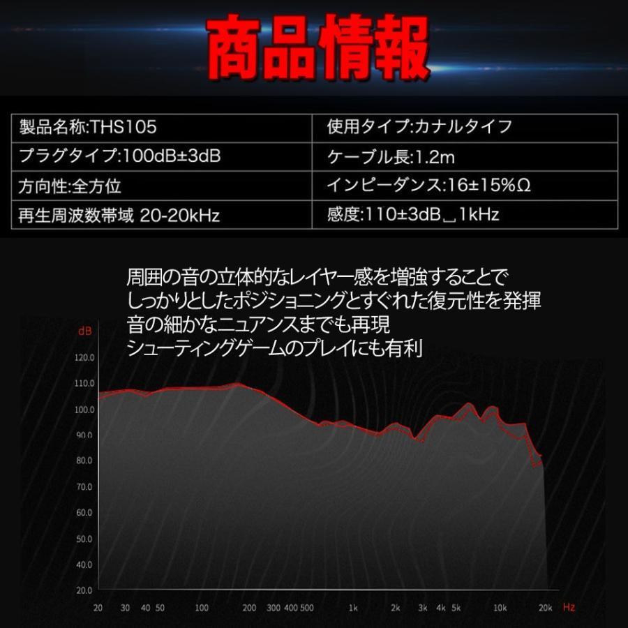 ゲーミングイヤホン マイク付き ヘッドセット フォートナイト PS4 スイッチ ボイスチャット スカイプ Zoom iPhone PC 送料無料|azbex-tec|18