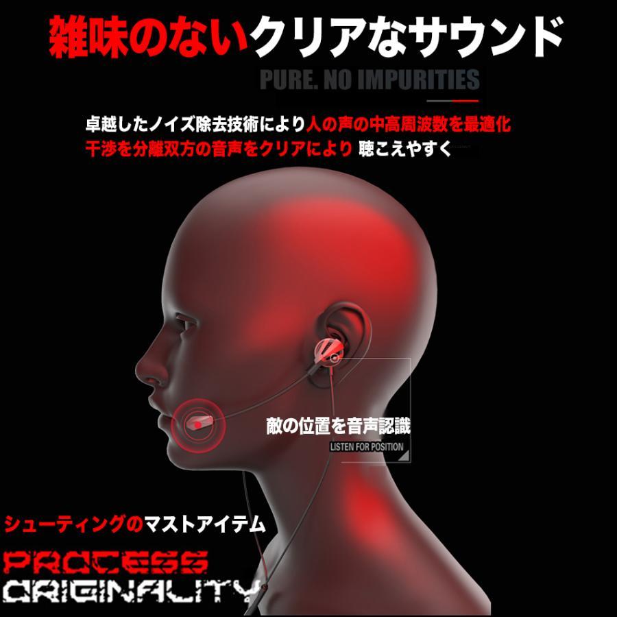 ゲーミングイヤホン マイク付き ヘッドセット PS4 スイッチ ボイスチャット 任天堂 Switch フォートナイト スカイプ zoom 2020年型 azbex-tec 15