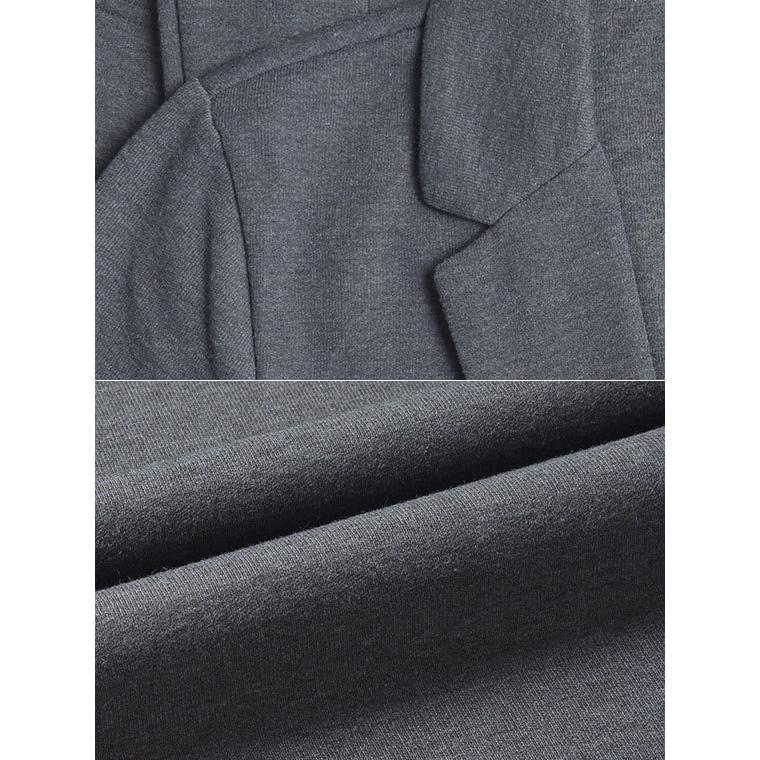 カジュアルスーツ メンズ セットアップ 40代 テレワーク 上下セット パジャマ ストレッチ テーラードジャケット ビジネス スウェット 在宅 azdeux 11