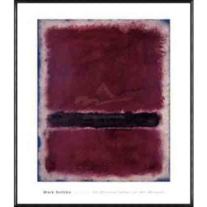ポスター アート Untitled 1963(マーク ロスコ) 額装品 アルミ製ハイグレードフレーム