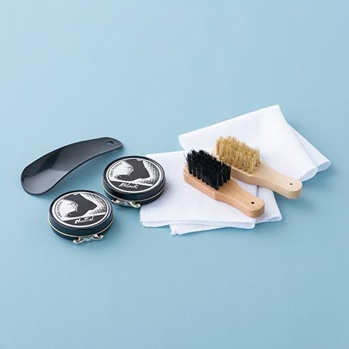 靴磨きセット 丸型 42-281-45|azp-shop