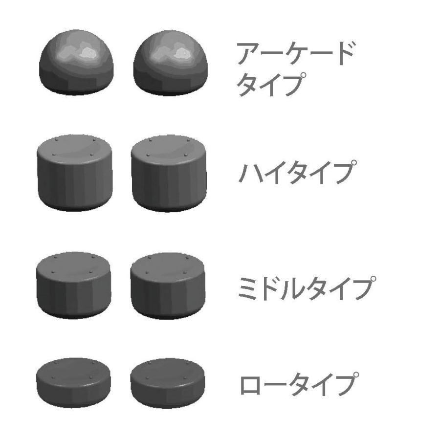 WiiUゲームパッド/WiiUプロコントローラー用FPSアシストキャップ【AIM SNIPER PRO】|azsys|02