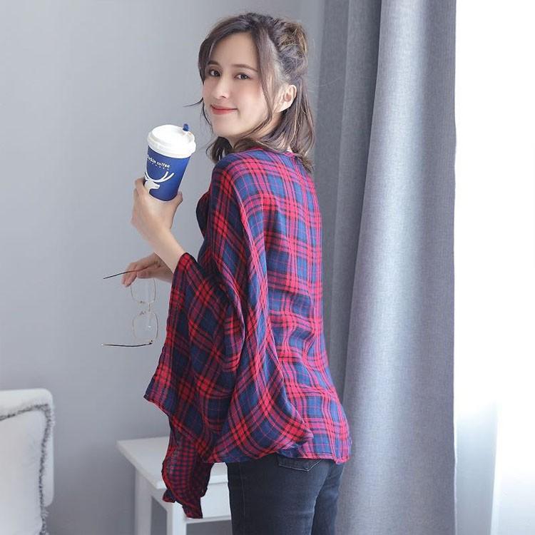 授乳ケープ 授乳カバー 授乳服 マタニティ ベビー用品 マタニティウェア 赤ちゃん ストール 送料無料 ケープ かわいい おしゃれ 安い トップス 授乳ストール azuna 08