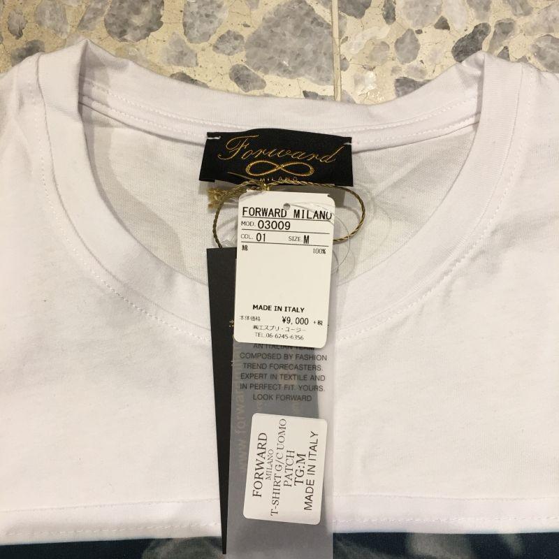 フォワードミラノ Forward MILANO クルーネック 半袖 Tシャツ マリリンモンロー モナリザ03009-01ホワイト azurshop 04