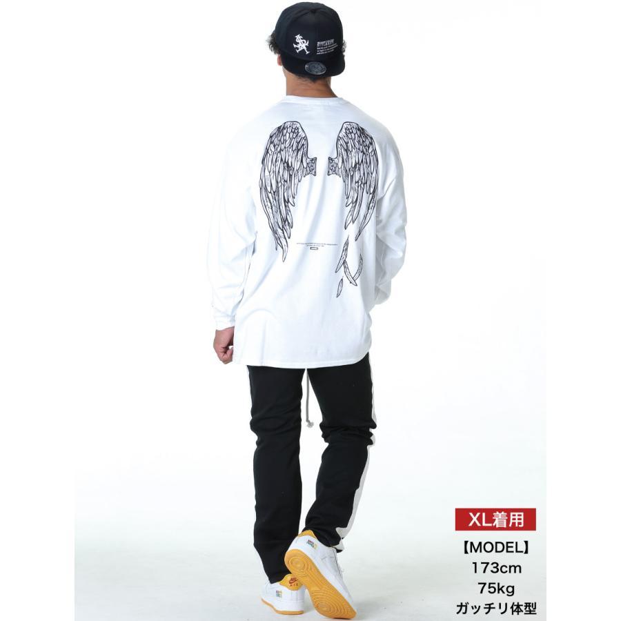 STYLEKEY(スタイルキー) 長袖Tシャツ FALLEN ANGEL L/S TEE(SK19HO-LS06) ロングスリーブTシャツ ストリート系 B系 大きいサイズ|b-bros|02
